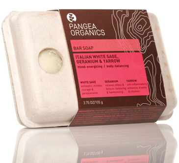 Pangea Organic packaging